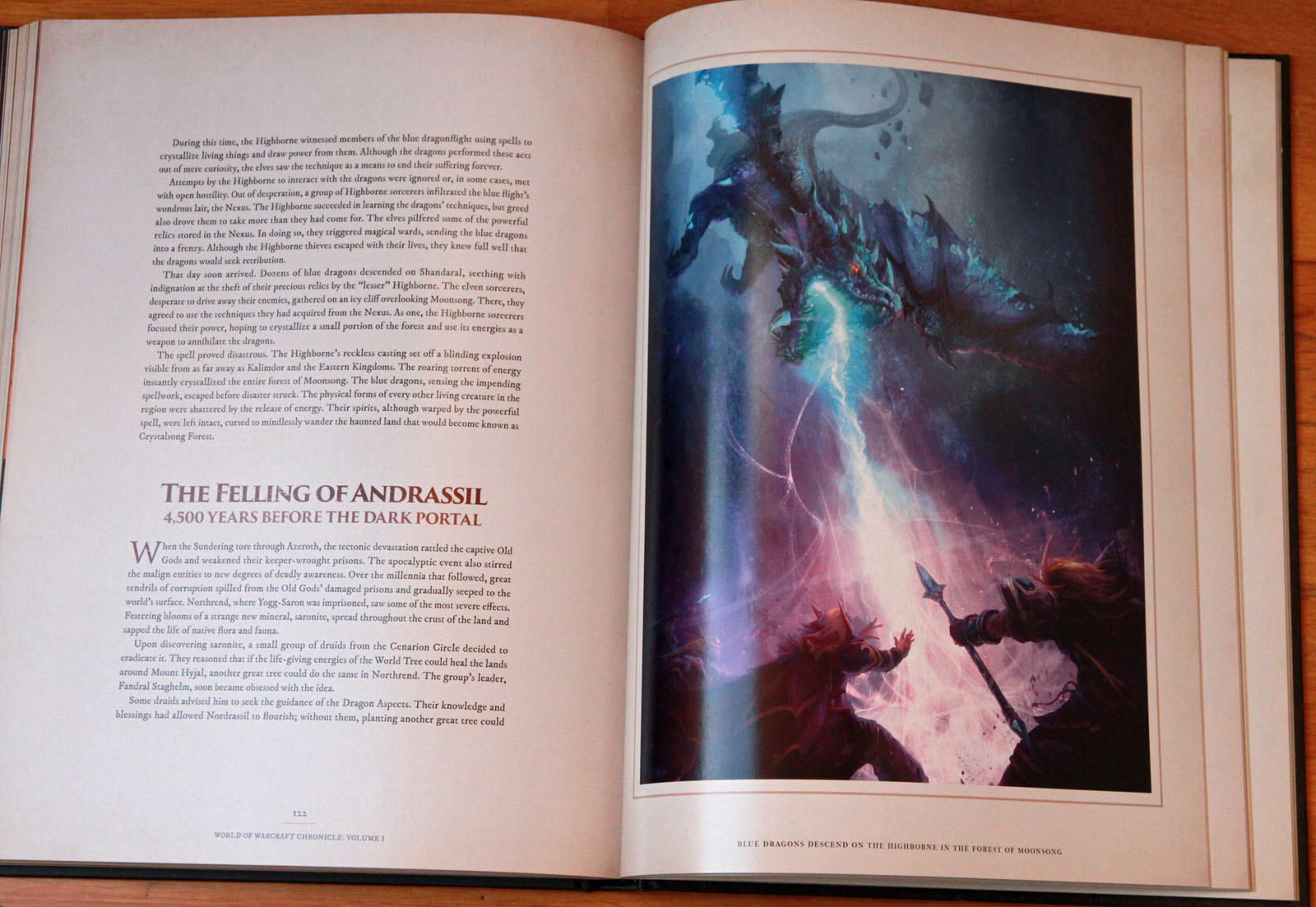 Photo Du Livre World Of Warcraft Chronicle World Of