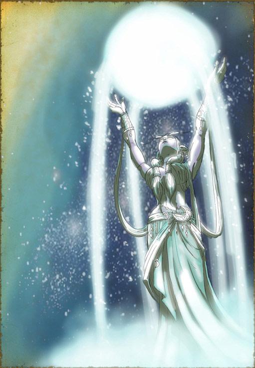 Image réalisée par Elhebore pour illustrer l'histoire du royaume Elune.