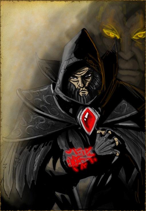 Image réalisée par Elhebore pour illustrer l'histoire du royaume Medivh.