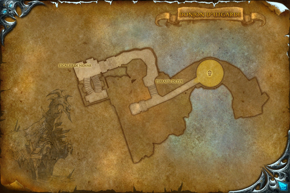 PTR 3.1 : Carte de Donjon d'Utgarde