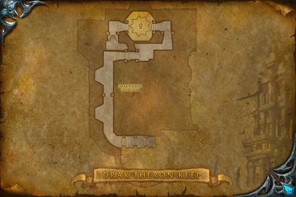 PTR 3.1 : Carte de Drak'Tharon
