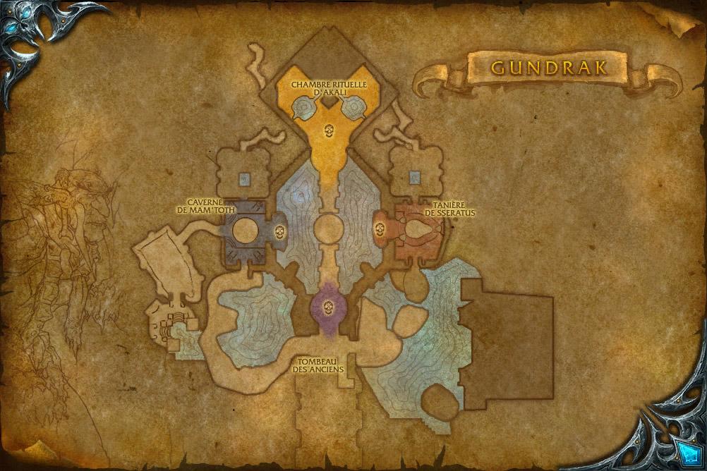 PTR 3.1 : Carte de Gundrak