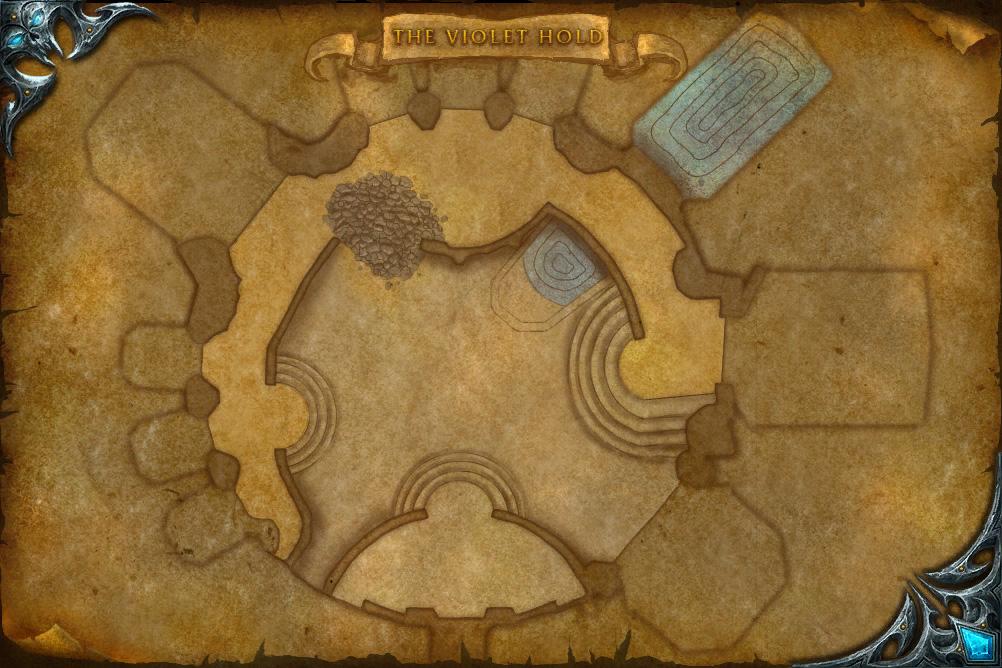PTR 3.1 : Carte de Le fort Pourpre