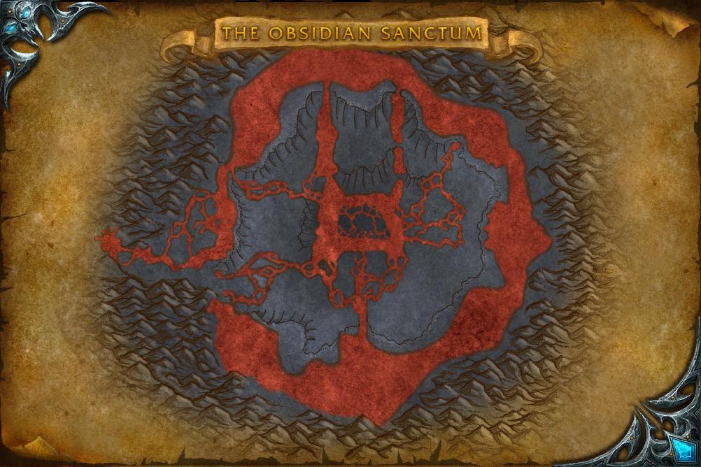 PTR 3.1 : Carte de Le sanctum Obsidien