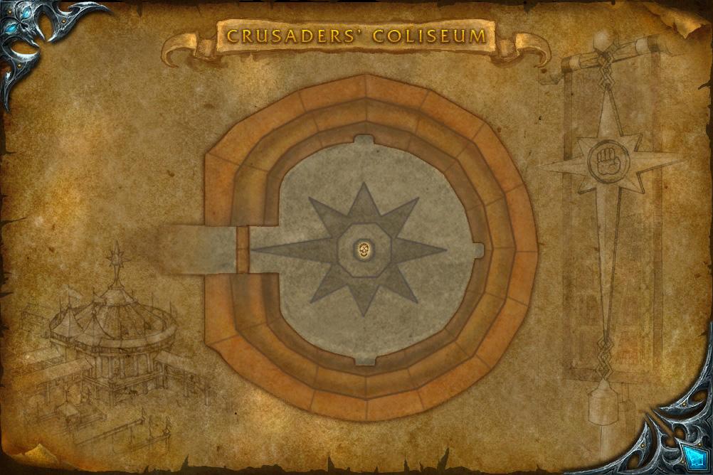 PTR 3.2 : Carte du Colisée des Croisés