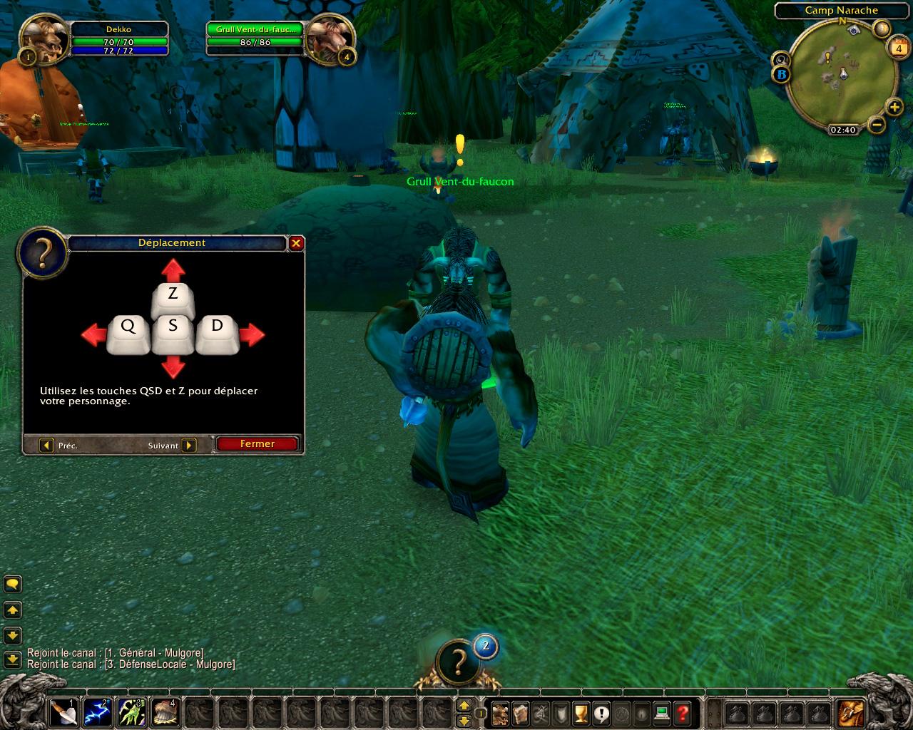 PTR 3.3 : La nouvelle interface d'aide aux nouveaux joueurs.