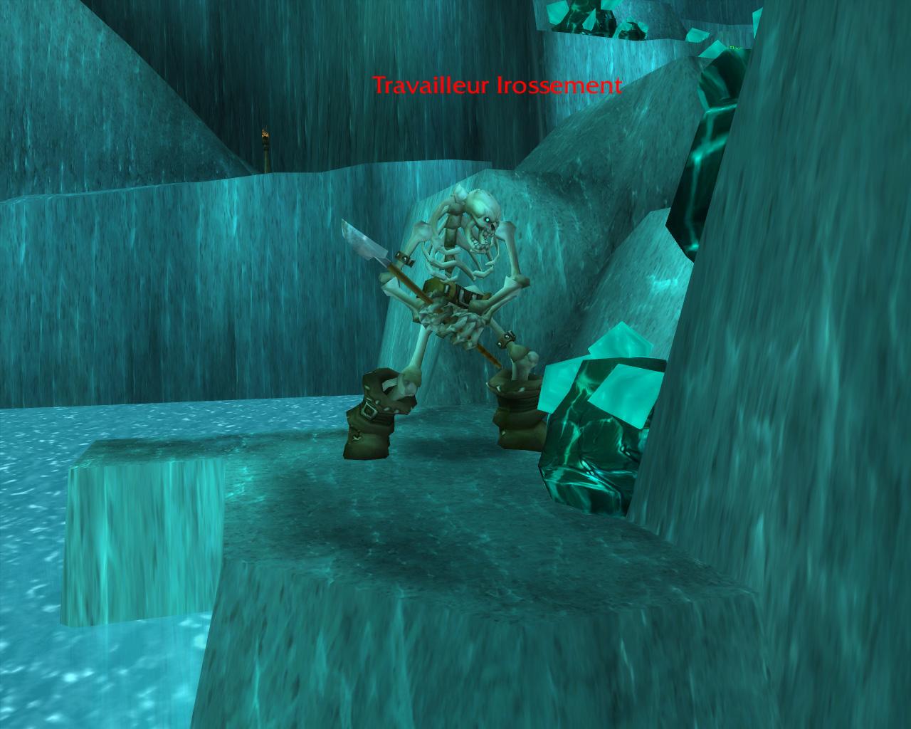 PTR 3.3 : Les salles Gelées - La fosse de Saron