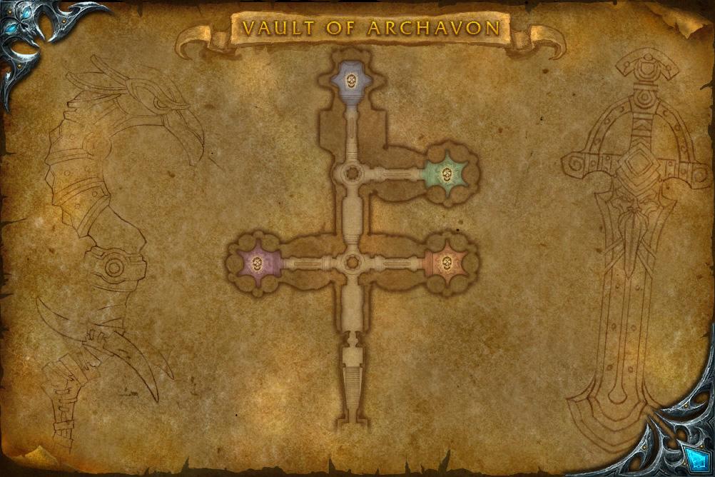 PTR 3.3 : Nouvelle carte du Caveau d'Archavon