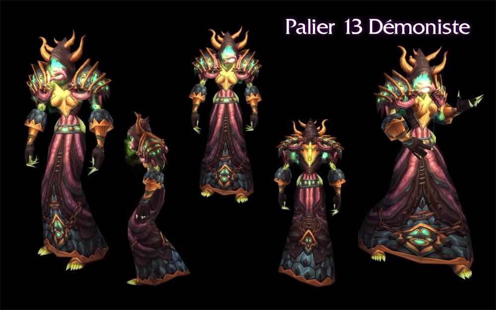 Patch 4.3 : Set tier 13 du Démoniste.