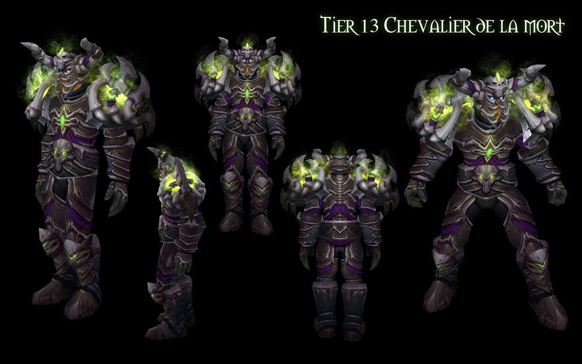 Patch 4.3 : T13 Chevalier de la Mort.