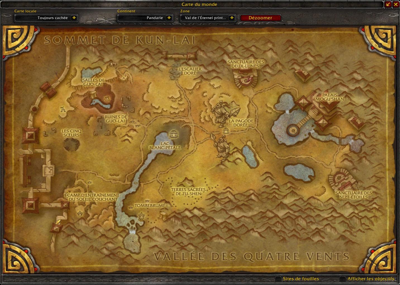 Le Val de l'Eternel Printemps au patch 5.2.