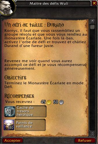 Patch 5.3 de World of Warcraft.