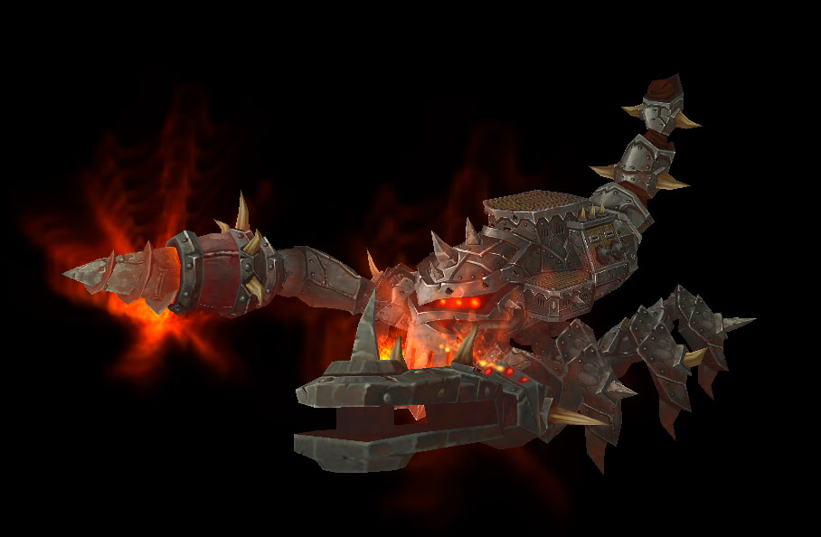 Siège d'Orgrimmar: Iron Juggernaut Boss.