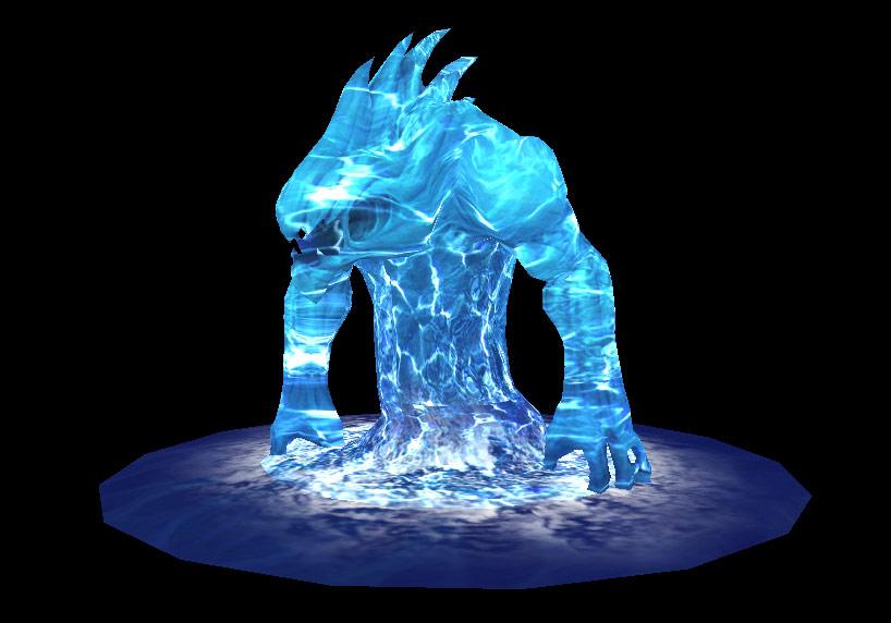 Siège d'Orgrimmar: Water Elemental Boss.