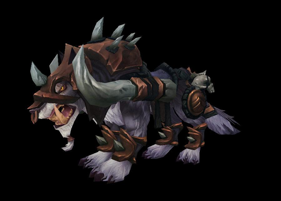 PTR 5.4: Kor'kron Elite Wolf.