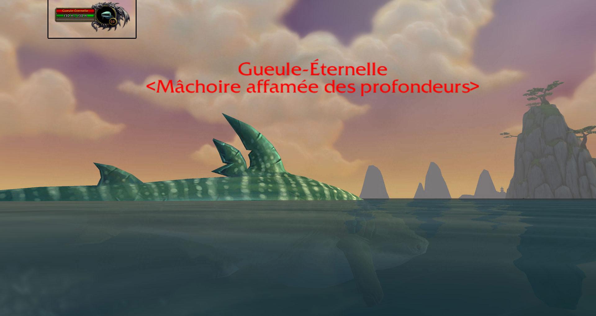 Monstre rare de l'Île du temps figé: Gueule-Éternelle.
