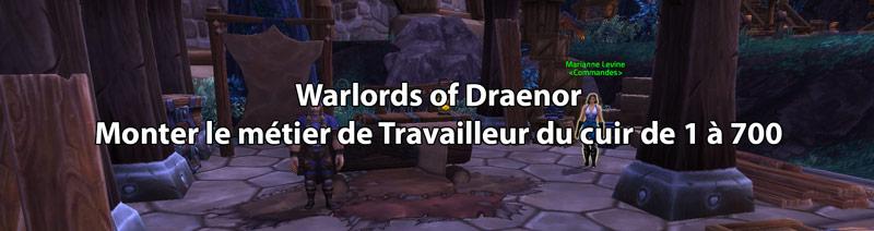 dba529ca269 Les professions de World of Warcraft   Monter le Travail du Cuir de 1 à 700  dans Warlords of Draenor