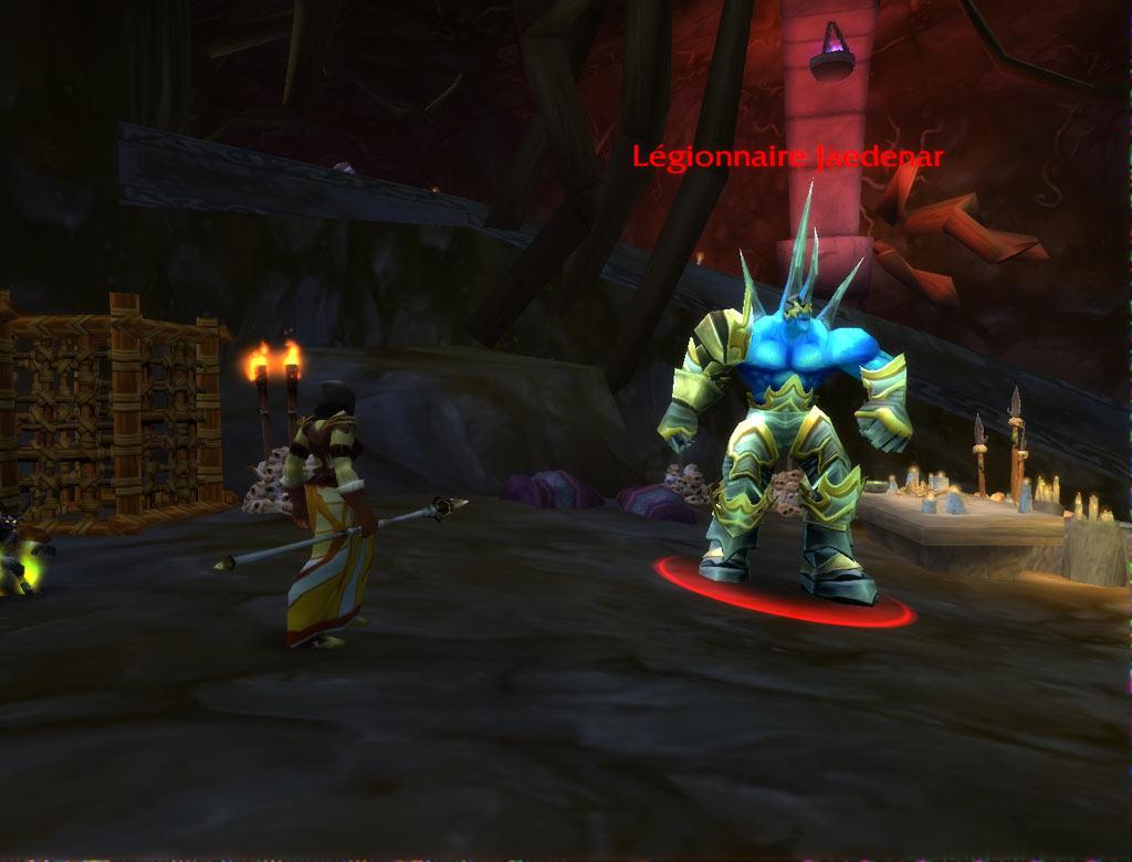 Un Légionnaire, l'un des monstres qui peut droper la gangressence pour la quête de l'Infernal.
