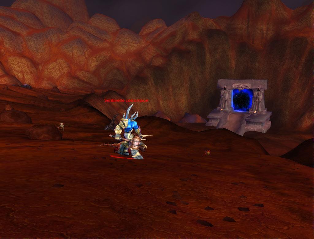 Une Sentinelle, l'un des monstres qui peut droper la gangressence pour la quête de l'Infernal.