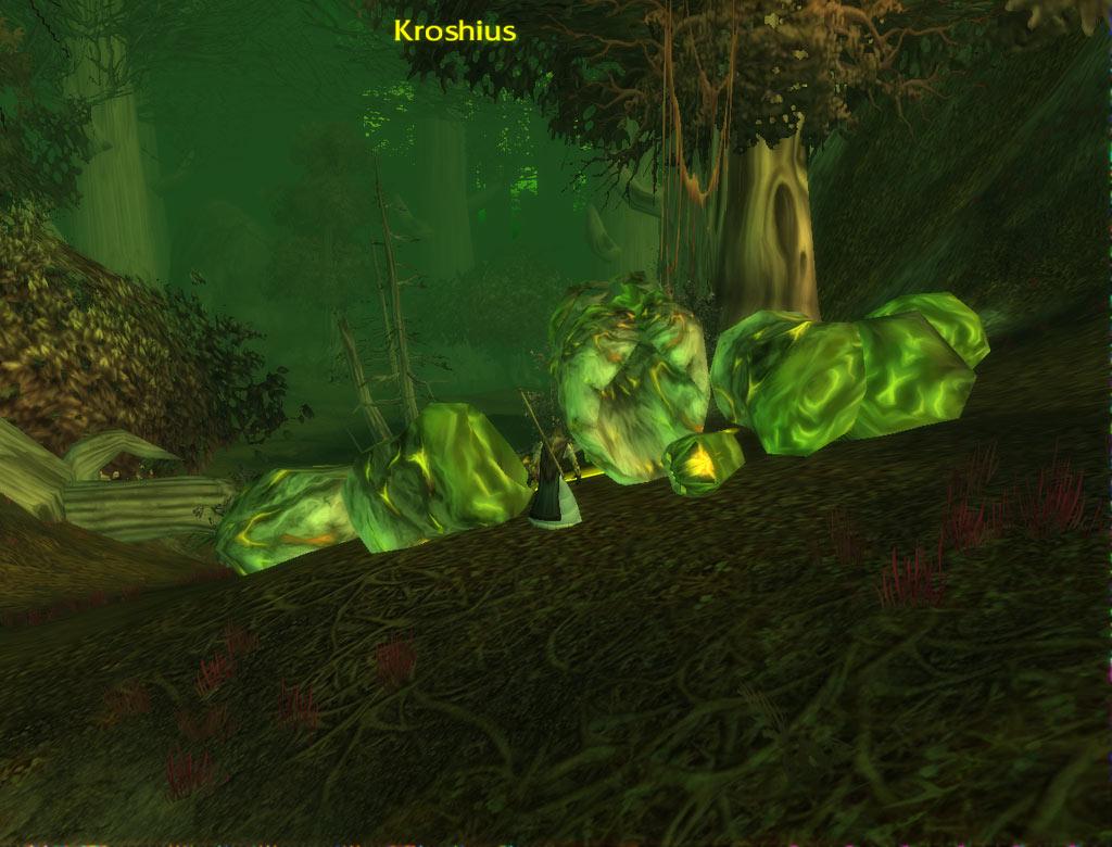 Les restes de Kroshius, l'Elite 55e que vous devez combattre pour la quête de l'Infernal.