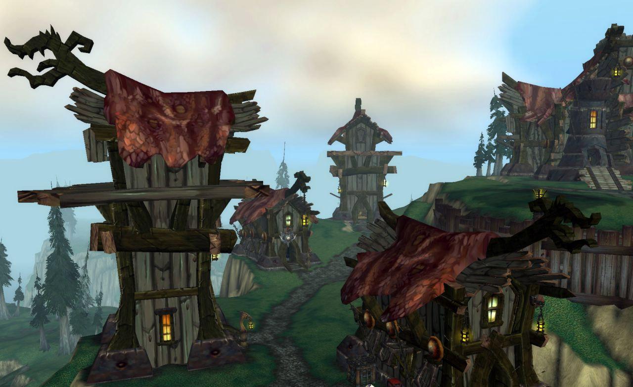 Screenshot de World of Warcraft : Wrath of the Lich King (août 2007).