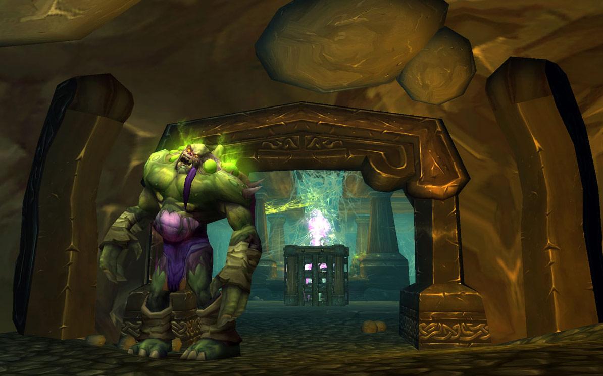 Screenshot de World of Warcraft: Wrath of the Lich King (février 2008).