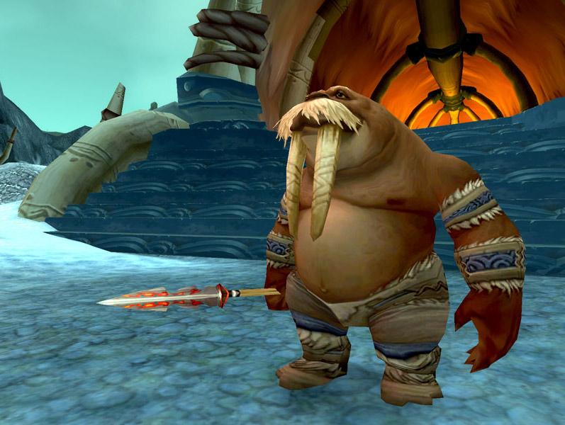 Screenshot de World of Warcraft: Wrath of the Lich King.