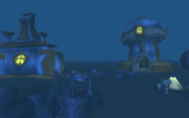 Screenshot d'un lieu insolite de World of Warcraft.